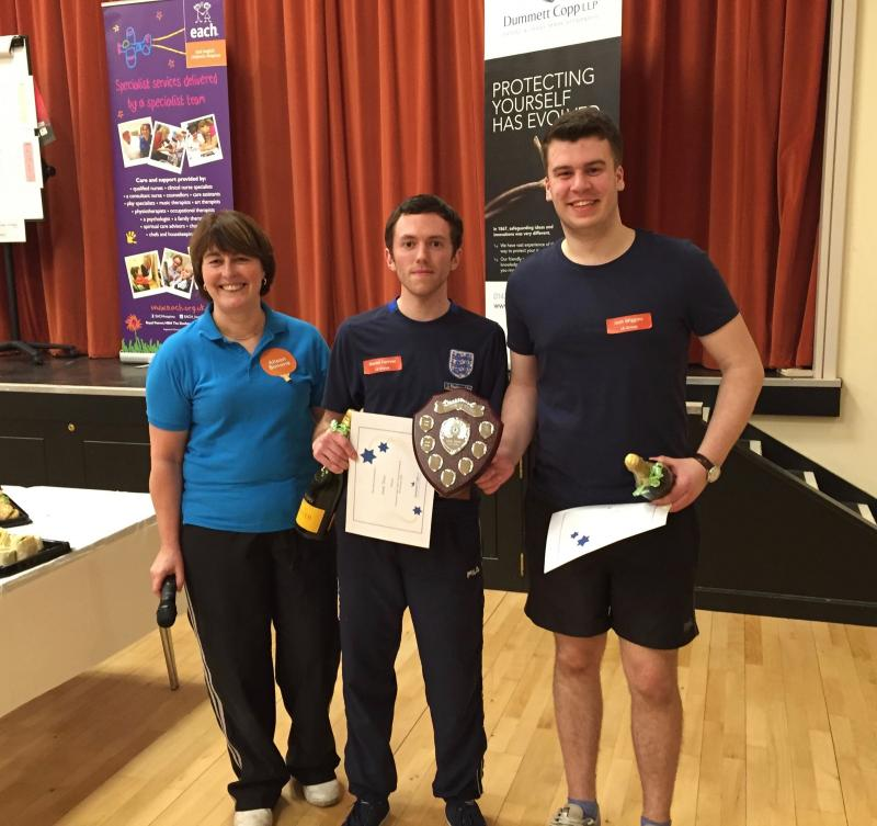 Winners of the Dummett Copp Table Tennis have been announced